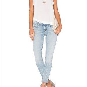 J Brand Mid Rise Skinny Jeans in Decades Crease 26